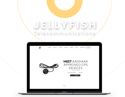 BRANDING & CORPORATE WEBSITE FOR A TELECOM COMPANY