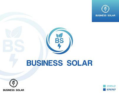 Business Solar Logo Design