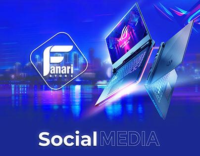 Social Media - Fanari Store