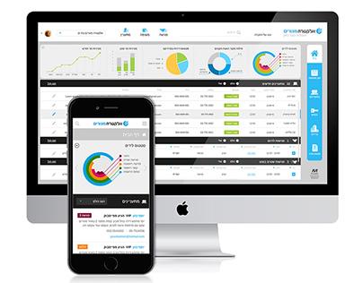 Sales management app for the real estate market