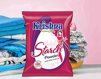 Detergent, Starch Packaging & Branding