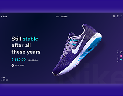 Run- Enjoy a new experience of shopping shoes.