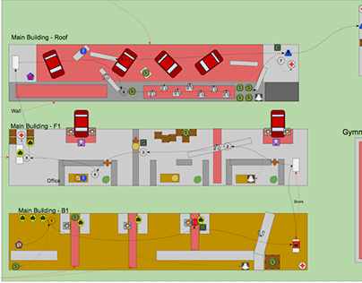 Full Sail Portfolio II Class Level Map Project