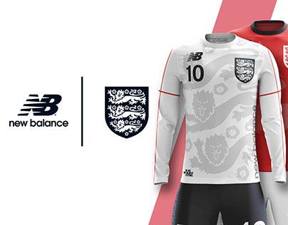 ENGLAND ✕ NEW BALANCE CONCEPT KITS SOCCER-FOOTBALL