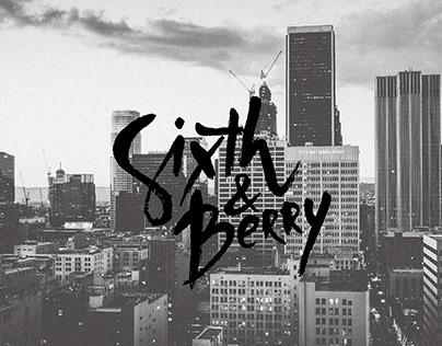 Sixth & Berry branding