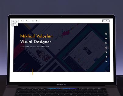 Personal Website. Portfolio