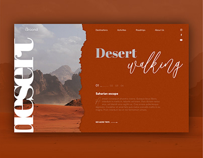 Travel Agency - Landing page