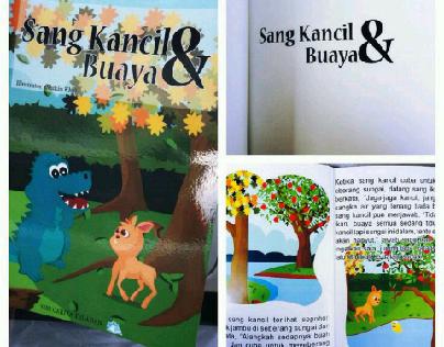 Children storybook - Sang Kancil & Buaya