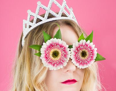 Photo project : Women in flower