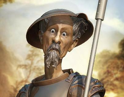 Don Quixote WIP