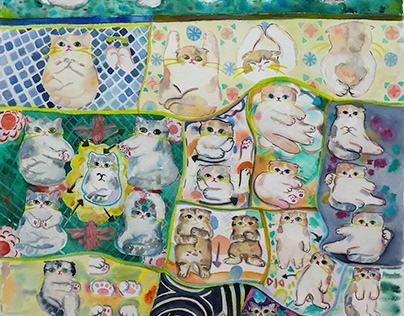 """Art Create Pranakorn"" Project by Megim Studio"