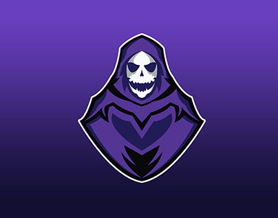 Ghost Mascot Logo for a Gaming Team.