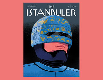 The Istanbuler // Magazin Cover Illustration
