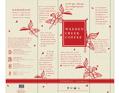 Weeden Creek & Torke Coffee Packaging