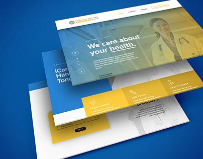 UST Hospital Web Design