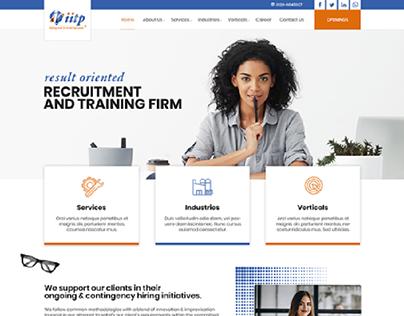 IITP Website Redesign by ravisah.in