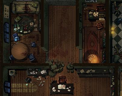 Mapa Sanatório   O segredo na floresta