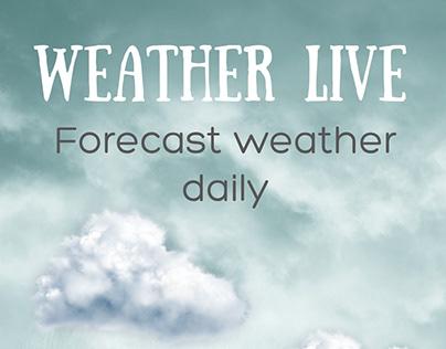 Sản phẩm Weather live