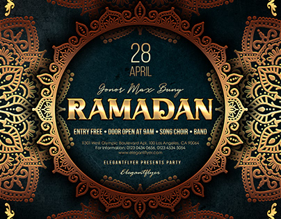 Ramadan – PSD Flyer Template