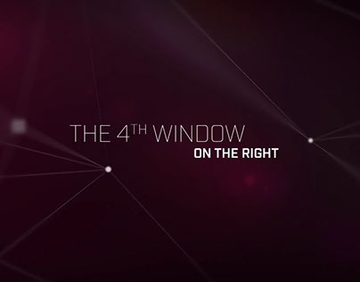THE 4TH WINDOW ON THE RIGHT