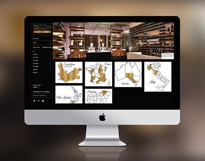 The Taster at Benguela on Main BRANDING + WEB DESIGN