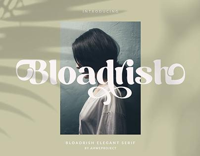 Bloadrish - Elegant Serif