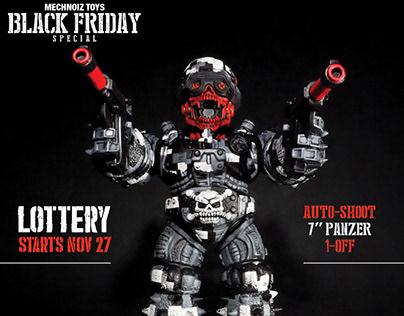 "Black Friday""Auto Shoot"" - Custom Mechnoiz Toy's Panzer"
