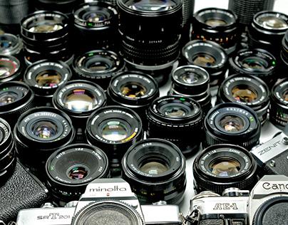 Vintage Lens Photoshoot