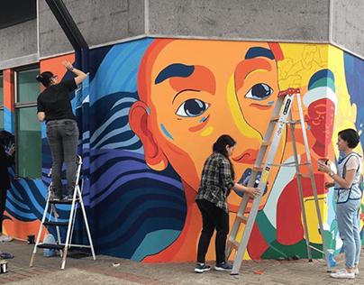 Mural - Instituto de Investigaciones Sociales UCR