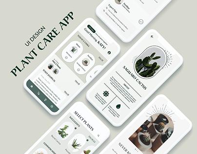 Plant Care App - UI/UX