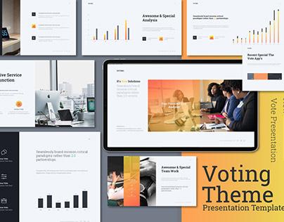 Voting Theme Presentation Template