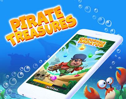 Pirate Treasures The Game ART