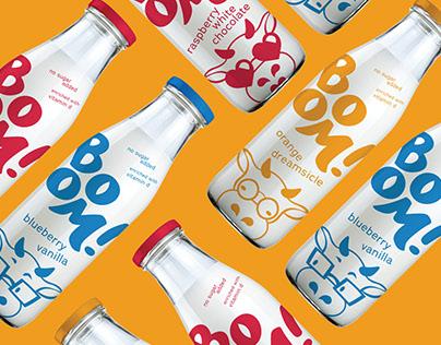 Boom! Milk Branding