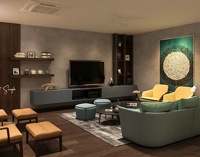 Casual Area Interior Design