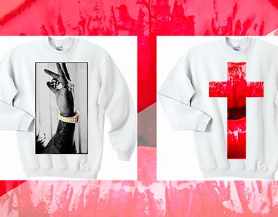 Line branded sweatshirts - MEDVED'