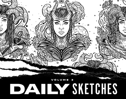 Daily Sketches: Volume 3