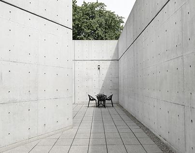 Vitra Conference Pavilion | Tadao Ando