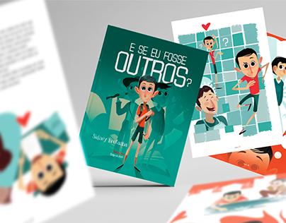 Ilustrações para o livro - E SE EU FOSSE OUTROS?