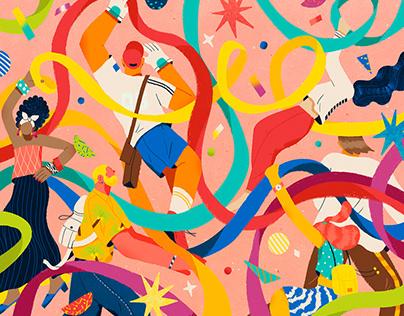 illustrations for the Teaching Tolerance magazine