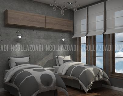 11/2017 Interior Design Bedrooms - Vaughan, CA 11/2017
