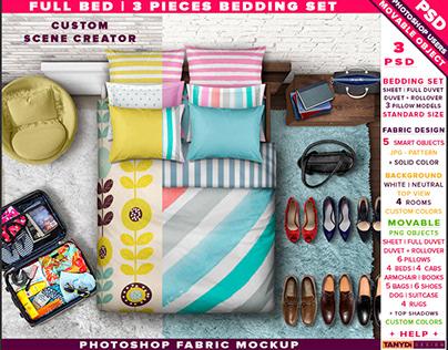 Full Bedding Set 1-2-3 Pieces