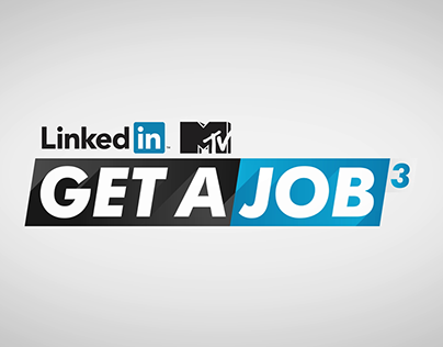 LinkedIn MTV Get A Job - Motion Infographic