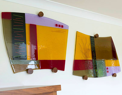 Moir Wade Design Ltd - Commissioned Art Glass