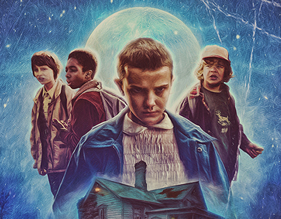 Stranger Things poster by The Sonnyfive