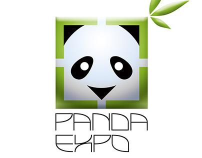 """Разработка логотипа для компании """"Панда Экспо"""""""