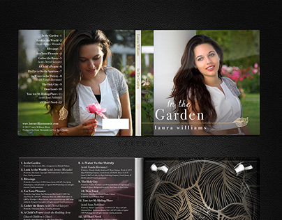 CD Design - In the Garden by Laura Williams