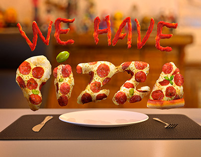 We have pizza