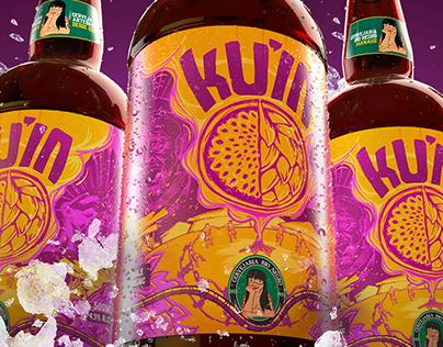 Cerveja KU'IA - Rótulo / Beer Label