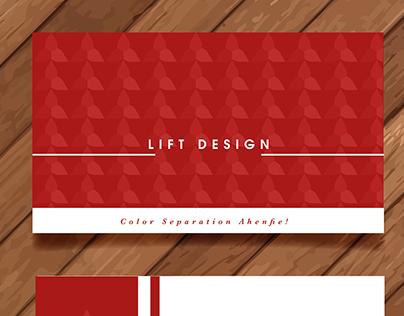 LIFT DESIGN CALL CARDS