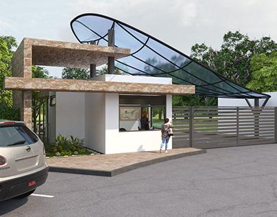 Seccuet Gate House